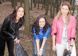 Blestyashchiye - Image: Блестящие на субботнике