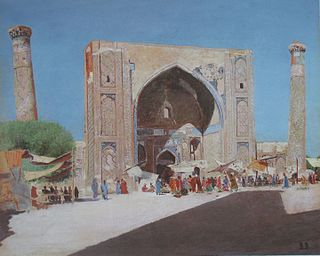 Самарканд, 1869