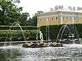 Верхний сад. Квадратный пруд. Фонтан Аполлон. - panoramio.jpg