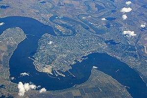 Mykolaiv - Bird's-eye view on the city.