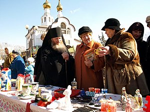 "Joseph (Balabanov) - Arcbishop Joseph at the festival ""Great Maslenitsa"" in Birobidzhan"