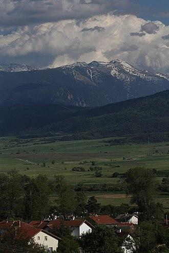 Sofia Province - Rila Mountain as seen from Relyovo, Samokov Municipality