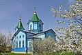 Заворичі. Георгіївська церква. 1878 рік. Весняний цвіт на Паску.jpg