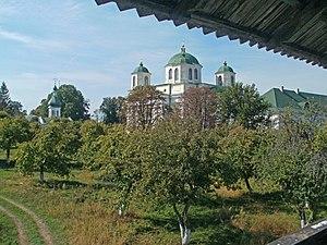 Novhorod-Siverskyi - Image: Новгород Сіверський. Спасо Преображенський монастир. Вид зі стіни монастиря