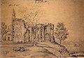 Орда Наполеон. Гродно. Руины Коложской церкви. 1869.jpg