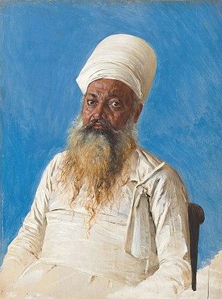 Священник парс (огнепоклонник). Бомбей, 1874-1876