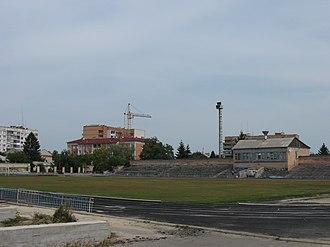 Lubny - Image: Стадіон Центральний у Лубнах