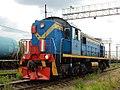 ТЭМ2-1310, Russia, Samara region, Oktyabrsk station (Trainpix 170419).jpg