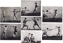 Palmach soldiers practicing KAPAP stick fighting