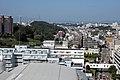 マンション高層階より多摩市の谷戸部の市街地130807.jpg