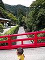 瀧安寺から滝道を望む - panoramio.jpg