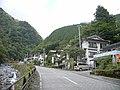 県道29号線 梅ケ島温泉入り口バス停 - panoramio.jpg