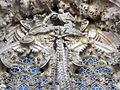 004 Sagrada Família, façana del Naixement, porta de la Caritat, l'Anunciació.jpg