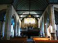 018.Sizun.L'arrière de l'église et le buffet d'orgues.JPG