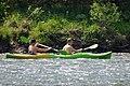 02018 0375 Schlauchboottour auf dem Sanfluss durch die Ost-Beskiden, Oberes Santal in Miedzybrodzie.jpg