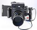 0304 Mamiya Universal 127mm f4.7 6x9 Polaroid Rubber Pistol Grip Cable (5475446463).jpg