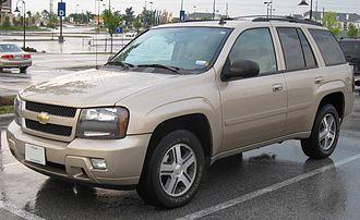 Chevrolet TrailBlazer - 2006–2008 Chevrolet TrailBlazer LT