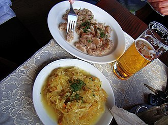 Sanok County - Image: 06017 dumplings with cabbage