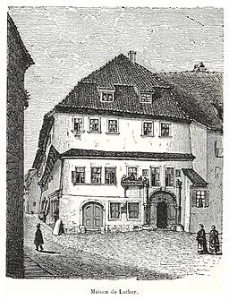 064 Eisenach, Lutherhaus