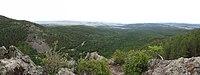 07.2016. Панорама со смотровой площадки на Алханай - panoramio.jpg