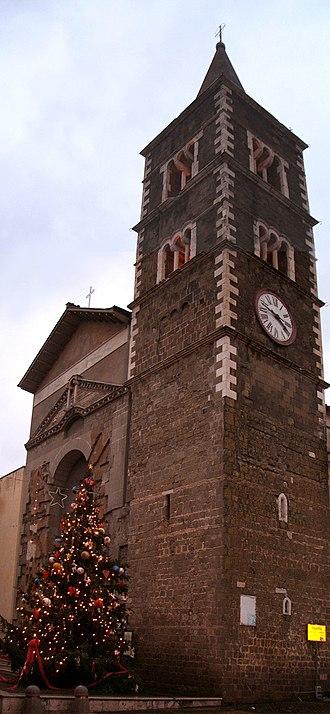 Roman Catholic Suburbicarian Diocese of Palestrina - Palestrina Cathedral