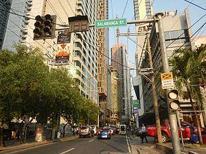 Kalayaan Avenue - Kalayaan Avenue just west of Makati Avenue near Century City