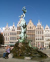 0978Brabofontein Grote Markt Antwerpen.JPG