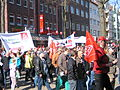 1. Mai 2013 in Hannover. Gute Arbeit. Sichere Rente. Soziales Europa. Umzug vom Freizeitheim Linden zum Klagesmarkt. Menschen und Aktivitäten (052).jpg