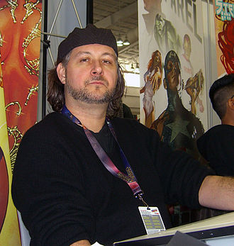 Stéphane Roux (comics) - Roux at the 2012 New York Comic Con.