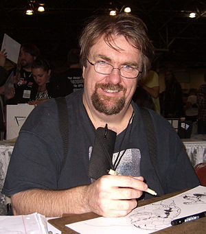 Lee Weeks - Weeks at the New York Comic Con in Manhattan, October 9, 2010.