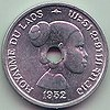 10 cents - Kingdom of Laos (1952) Art-Hanoi 01.jpg