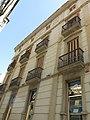 114 Edifici al c. Germans Sant Gabriel 2 (Valls), façana de la muralla del Castell.jpg
