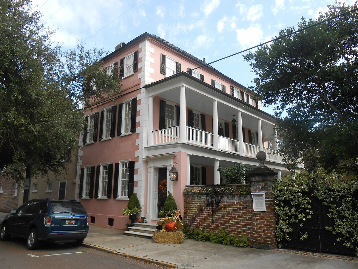 Charles graves house wikipedia for Charleston house plans