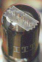 12SA7 Pentagrid converter tube.