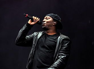 Dizzee Rascal - Rascal performing at Rock am Ring 2013