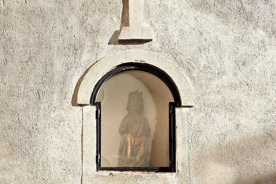 Église Saint-Jacques de Nyer, statue de Saint-Jacques