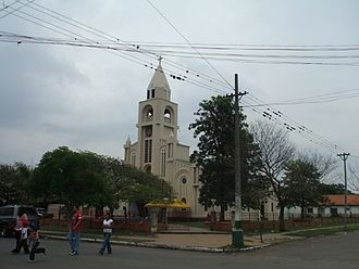 Presidente Hayes Department - The church of Villa Hayes