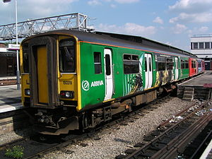 Valley Lines (train operating company) - Image: 150279 at Gloucester