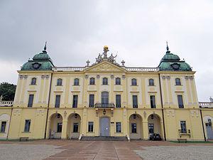 Branicki Palace, Białystok - Corps de logis of the Branicki Palace