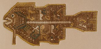 Pachacamac - 15th century Ychsma textile, from Peru's central coast