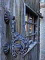 167 Cal Bosch (Mollerussa), portal del pati.JPG