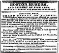 1842 BostonMuseum BostonDailyAtlas June7.png