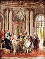 1848 Menzel Tafelrunde Friedrichs II. in Sanssouci anagoria.JPG