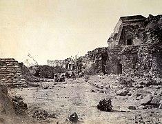 1857 ruins jantar mantar observatory2