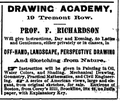 1868 Richardson drawing academy advert 19 Tremont Row Boston.png
