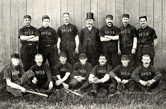 History of the Philadelphia Phillies - 1888 Philadelphia Quakers