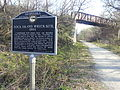 1894 Rock Island railroad wreck crash site, Mar 2012.jpg