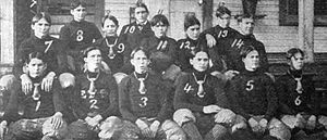 1902 East Florida Seminary football team - Picture in Spalding's Football Guide