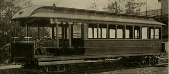 Cable cars in Chicago - Combination grip car