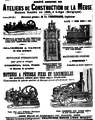 1905 Ateliers de construction de La Meuse advert.png